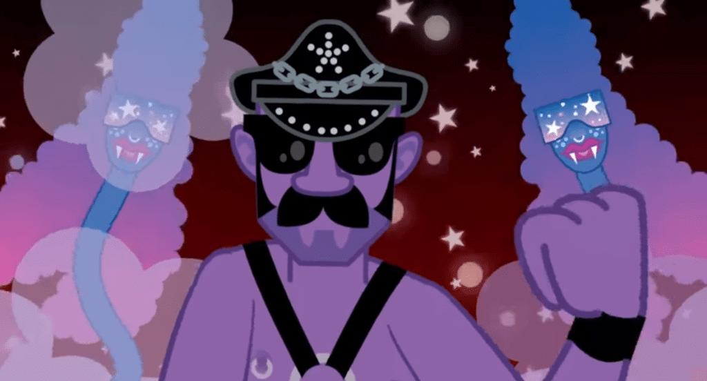 Clip animé de Joe Goddard - Home