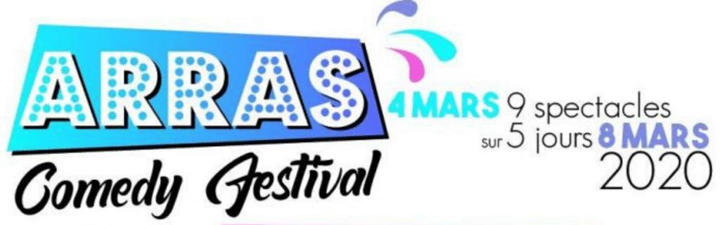 Bandeau Arras Comedy Festival 2020