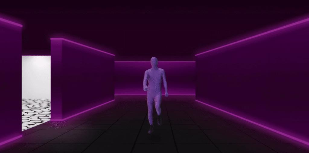 Clip animé de Purple Disco Machine - Body Funk