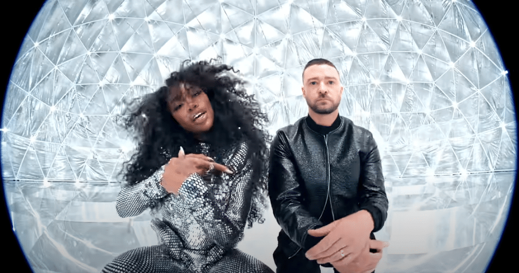 Clip de SZA & Justin Timberlake - The other side sur Yellow.radio